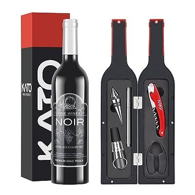 Kato Wine Bottle Accessories Set