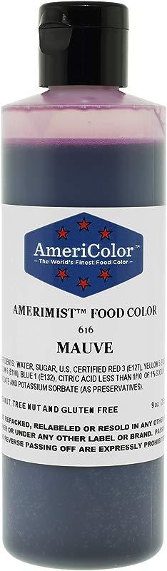 AmeriColor AmeriMist Mauve Airbrush Food Color 9 Oz