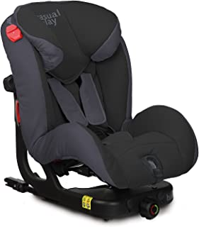 Casualplay Beat Fix - Silla de auto, color negro