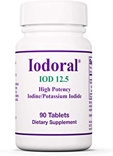 Sponsored Ad - Optimox Iodoral 12.5 mg - Original High Potency Lugol Solution Iodine Nutritional Supplement - Energy and T...