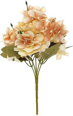 Itsy Bitsy- Artificial Flower- Wild Flower, Coral Blush, 11inch, 1 Sprig