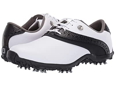 FootJoy LoPro Collection (White/Black) Women