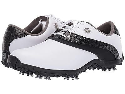 FootJoy LoPro Collection (White/Black) Women