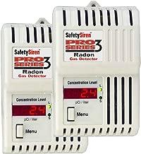 Safety Siren Pro Series3 Radon Gas Detector, 2 Pack