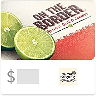 On The Border Gift Cards - E-mail Delivery