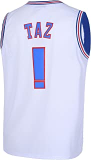 CNALLAR Mens Basketball Jerseys Taz !# Space Movie Shirts