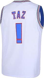 Mens Basketball Jersey TAZ Moive Space Jam Sports Shirts