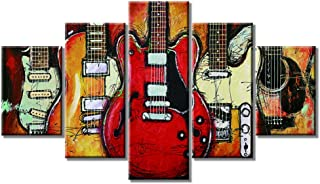 Best abstract acoustic guitar painting Reviews