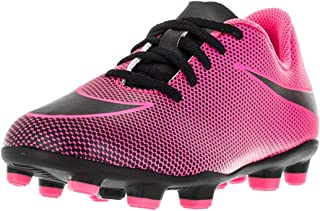 pink nike football cleats