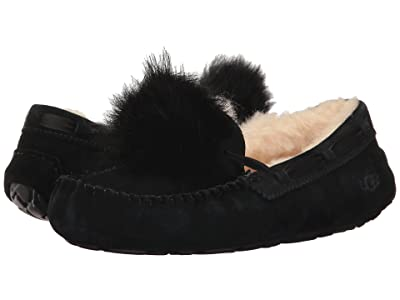 UGG Dakota Pom Pom (Black) Women