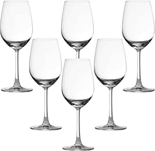 Ocean Madison Wine Glass, Pack of 6, Clear, 350 ml, 015W12