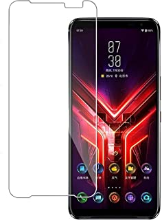 BRISKARII ROG Phone 3 Screen Protector Tempered Glass, [2.5D Full Coverage] [Bubble Free] Protective Film for ASUS ROG Pho...