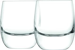 LSA International BR42 Bar Whisky Tumbler 275ml Clear x 2