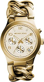 Michael Kors Women's Quartz Watch, Chronograph Display and Stainless Steel Strap MK3131