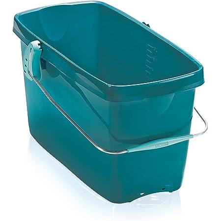 Leifheit Seau de nettoyage Combi XL, Seau en plastique d'une contenance de 20 L, Seau rectangulaire à poignée, compatible avec support d'essorage