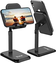 """Blukar Phone/Tablet Stand, Phone Holder Dock for Desk, Angle & Height Adjustable, Portable Holder for Tablet (up to 10.5""""), Super Stable Compatible with All Mobile Phones,iPad,Nintendo Switch,etc"""
