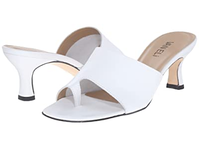 Vaneli Melea (White Seta Calf) High Heels
