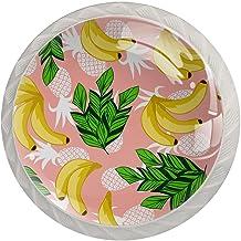 AITAI Roze Ananas Ronde Kabinet Knop 4 Pack Trekt Handvatten