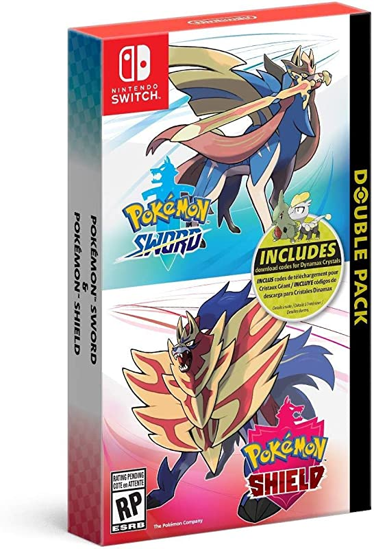 Pokemon Sword And Pokemon Shield Double Pack Nintendo Switch