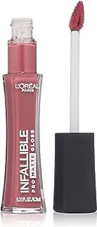 L'Oréal Paris Infallible Lip Pro Matte Gloss, Blushing Ambition, 0.21 fl. oz.