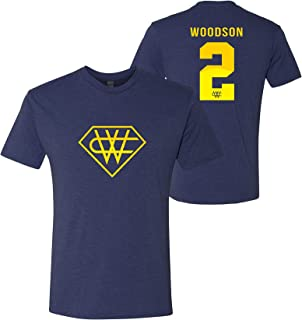 Super Charles Woodson - Michigan, Football Triblend T Shirt