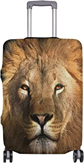 Funny Print Lion King Elastic Travel Suitcase Protector Luggage Cover 29-32 Inch