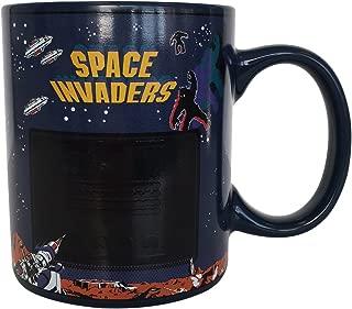 Space Invaders Heat Changing Ceramic Coffee Mug 10oz