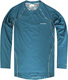 Columbia Omni-Heat Mens Midweight Stretch Baselayer Long Sleeve Shirt