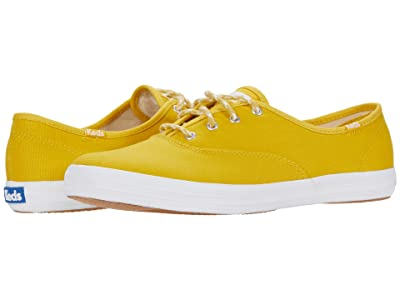 Keds Champion Seasonal Solids (Lemon Curry) Women