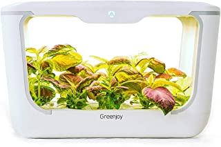 Greenjoy Indoor Herb Garden Starter Kit, Hydroponics Growing System, Plant Germination Kits, DIY Home and Kitchen Grow Gardening Planter for Seed Basi, Cilantro, Parsley, Sage, Thyme