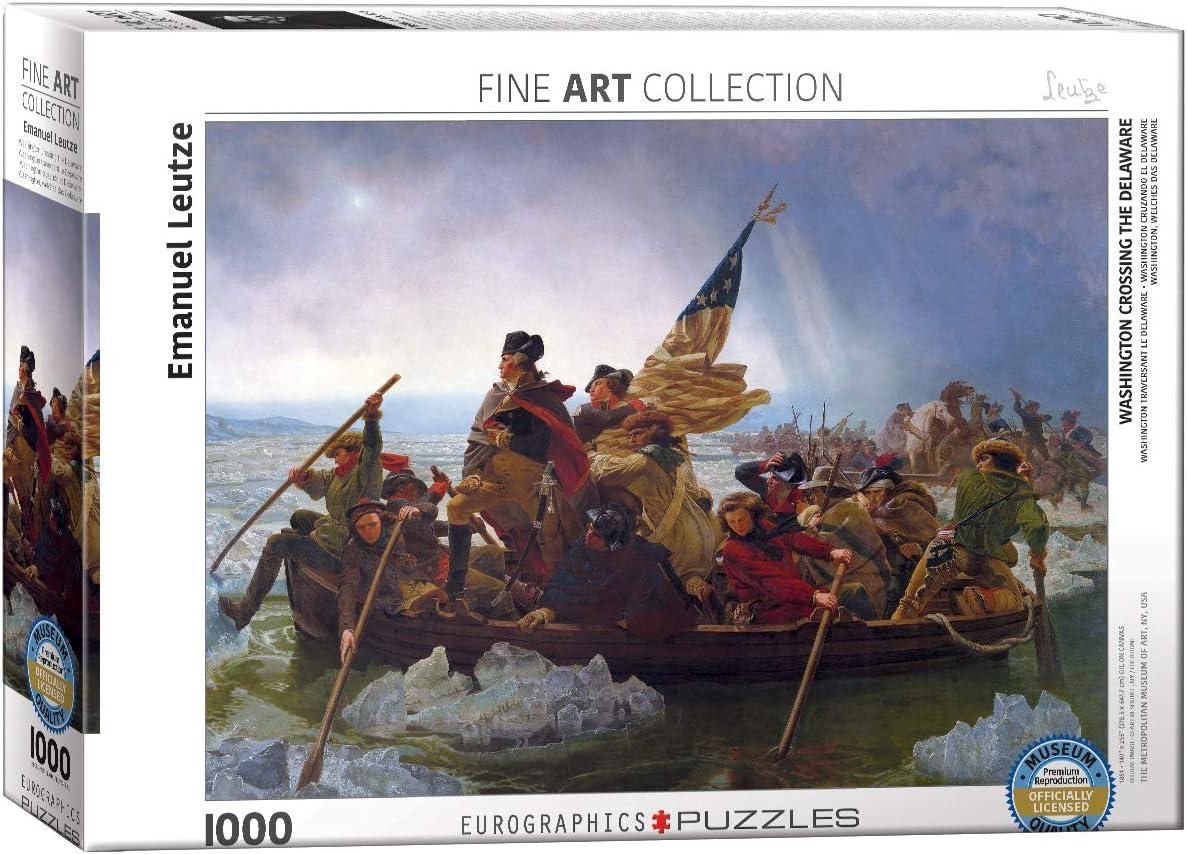 EuroGraphics Washington Crossing The Delaware by Emanuel Leutze (1000 Piece) Puzzle