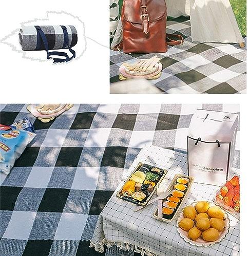 XQY Couverture de pique-nique-Grande couverture de pique-nique extérieure épaisse pliable imperméable à l'eau imperméable à l'eau portable tente de camping tapis,300  300cm