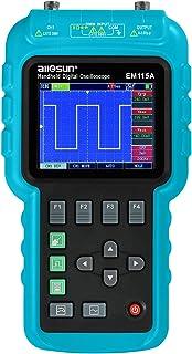 ALLOSUN 3 In1 Digital Oscilloscope Handheld With Usb Multifunction Digital Scope Multimeter Meter 50Mhz EM115A