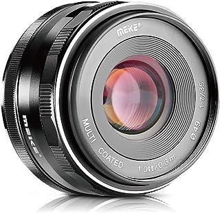 Meike 35mm F1.7 Manual Focus Prime Lens for Micro 4/3 MFT M4/3 Olympus and Panasonic Digital Mirrorless Cameras