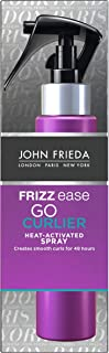 John Frieda Frizz Ease Go Curlier Heat Activated Spray for Curly Hair 100 ml - Activate curls. Salon-smooth style lasts up...