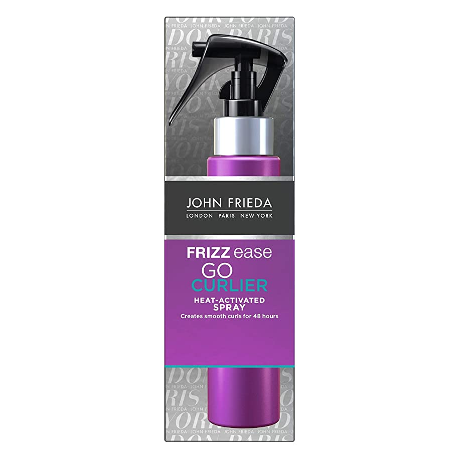構造的不安定コミュニティJohn Frieda Frizz Ease Go Curlier Heat Activated Spray 100 ml