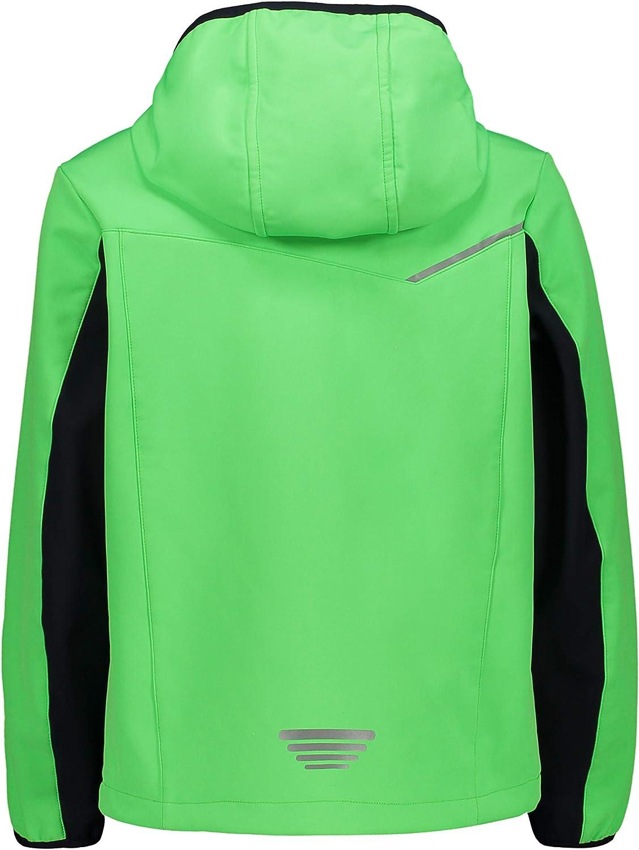 CMP Boys Giacca Softshell Fix Hood Jacket