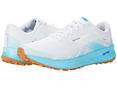 Brooks Catamount (White/Iced Aqua/Blue) Men
