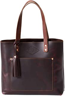 Best leather tote made in usa Reviews