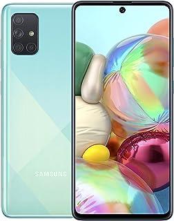 SAMSUNG Galaxy A71 Dual SIM 128GB 8GB RAM 4G LTE (UAE Version) - Blue - 1 year local brand warranty