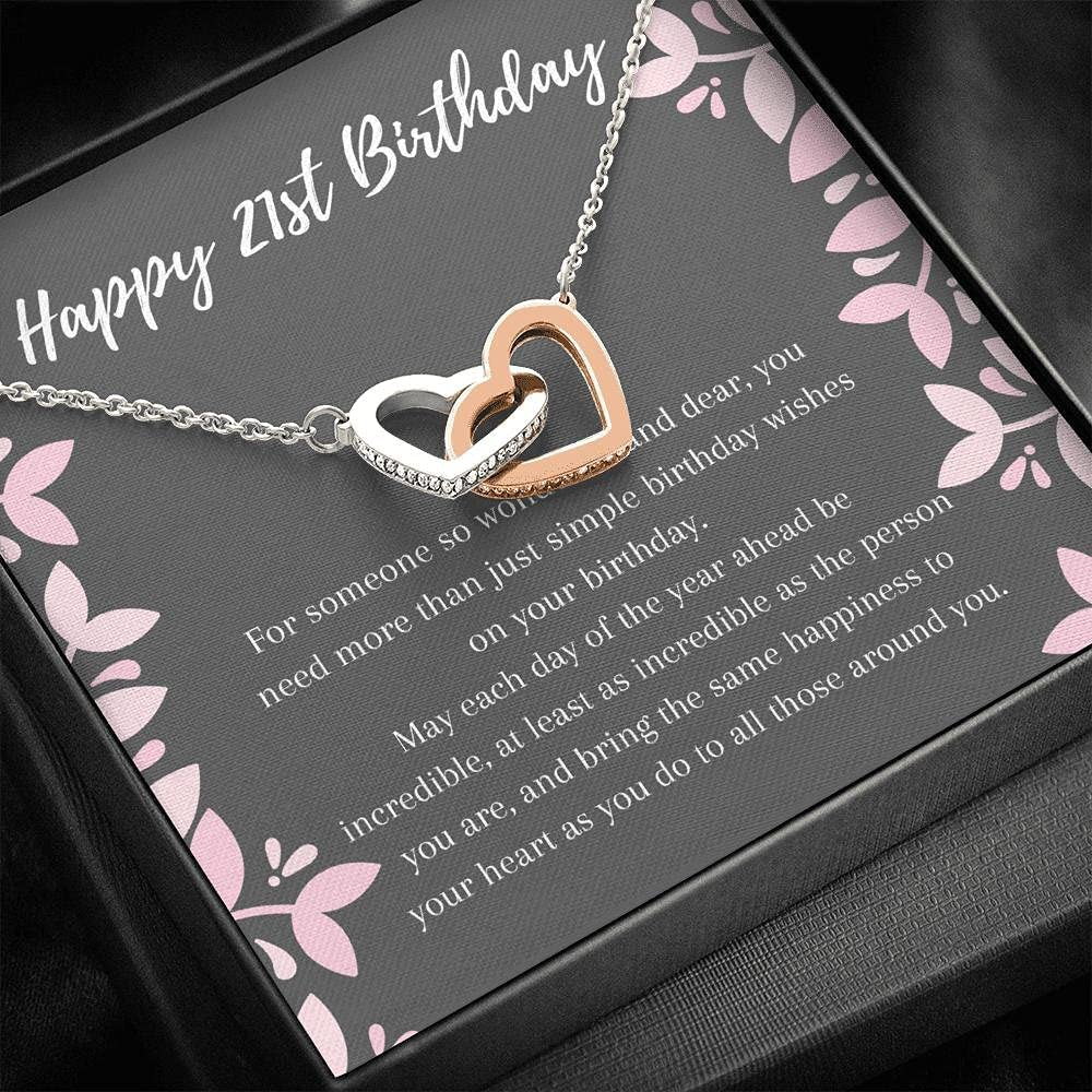specialty shop Birthday Gift Necklace : Happy Cheap sale 21st for Her I