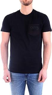 Calvin Klein Jeans Men's Calvin Pocket Slim S/S Shirt