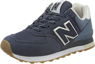 New Balance ML574GRE_38,5, Sneakers Uomo, Blu Navy, 38.5 EU