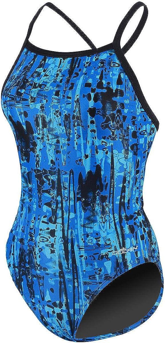 Dolfin Women's Baltimore Mall Max 88% OFF JOLT ONE-Piece Swimsuit V-Back