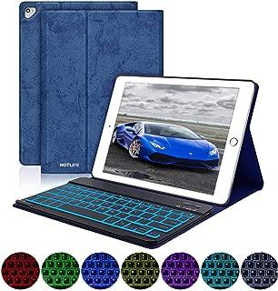 iPad Keyboard Case 9.7 for iPad 2018 (6th Gen)/iPad 2017 (5th Gen)/iPad Pro 9.7/iPad Air 2 & 1 Backlit iPad Cases with Keyboard-Thin&Slim Cover Detachable Bluetooth Wireless Keyboard Case for iPad