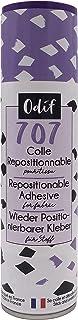 Odif – 707 – herpositioneerbare lijm voor stofspray, 250 ml.