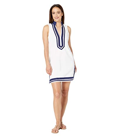 Cabana Life Essentials Sleeveless Terry Tunic Cover-Up (White) Women