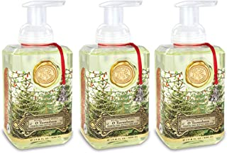 Michel Design Works Foaming Hand Soap, 17.80-Fluid Ounce, O Tannenbaum - 3-PACK