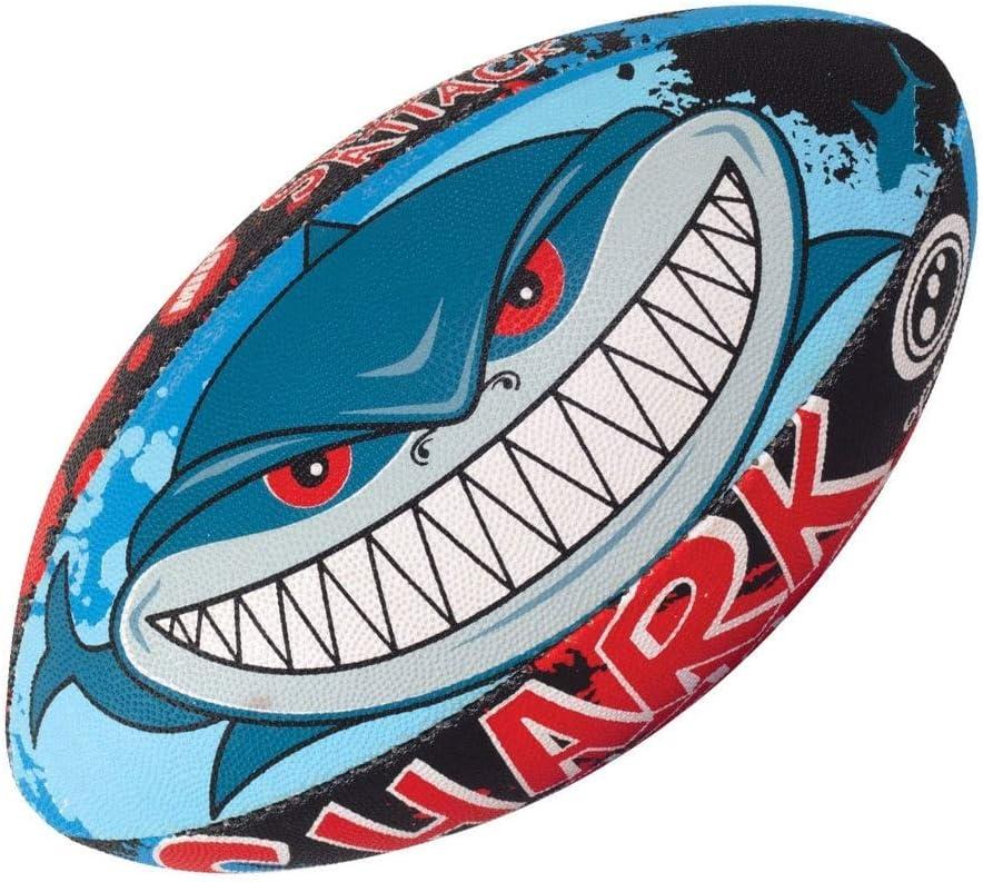 Optimum Rugby Ball - Attack 5 trust Shark 2021 model