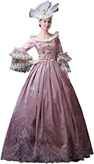 High-end Court Rococo Baroque Marie Antoinette Ball Dresses 18th Century Renaissance Historical Period Dress Gown for Women